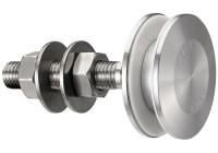Bolt cu rotula pentru fixari fatade de sticla FXR 1003 - Bolturi cu rotula - FXR