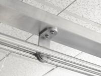 Sistem pentru usi glisante din sticla - Aplicatii - Sisteme pentru usi glisante din sticla SADEV DECOR