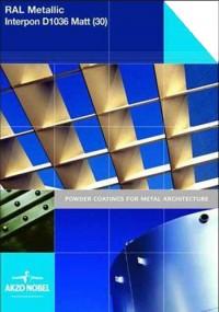 Colectia Interpon D RAL Metalic Mat - Vopsele pulberi