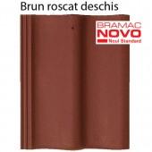 Tigla din beton DONAU Brun roscat deschis - Tigla din beton - DONAU