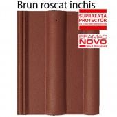Tigla din beton ALPINA CLASIC Brun roscat inchis - Tigla din beton - Alpina Clasic