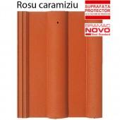 Tigla din beton ALPINA CLASIC Rosu caramiziu - Tigla din beton - Alpina Clasic