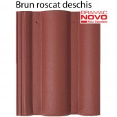 Tigla din beton ROMANA Brun roscat deschis - Tigla din beton - Romana