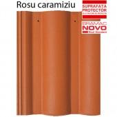 Tigla din beton ROMANA Rosu caramiziu - Tigla din beton - Romana