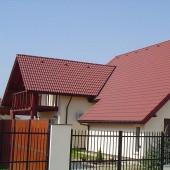 Invelitoare cu tigla din beton ROMANA - Brun roscat deschis - Tigla din beton - Romana