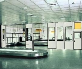 Pereti mobili cu glisare pe orizontala SAFE 100 - Peretii mobili glisanti pe orizontala, fonoizolanti
