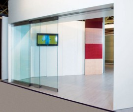 Pereti mobili glisanti KRISTAL TELESCOPIC AUTOMAT - Peretii mobili glisanti pe orizontala, transparenti