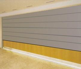 Pereti mobili cu glisare pe verticala ALLUMINIO - Peretii mobili glisanti pe verticala