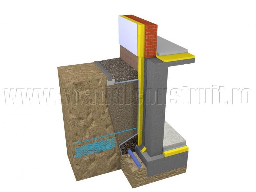Drenarea apei din panza freatica - Solutii pentru drenarea apei din panza freatica si scurgerea apelor