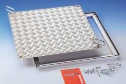Capac vizitare rezistent la 15 kN RVA ALU - Capace de vizitare din aluminiu
