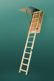 Scara modulara din lemn de pin - LWS SMART - Scari de acces la pod modulare din lemn