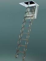 Scara metalica pantograf LSF - Scari de acces la pod metalice pantograf