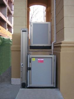 Elevator pentru persoane cu dizabilitati OPAL - Casa de pensii Arad - Elevator pentru persoane cu dizabilitati OPAL