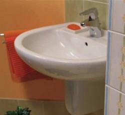 Lavoar cu semipiedestal Basic - Lavoare pentru baie