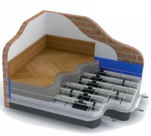 Sistem de incalzire prin pardoseala - PLUS - Sistemul de incalzire in pardoseala TIEMME - PLUS
