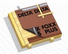 Patura drenanta DELTA - FOXX / FOXX PLUS - folii