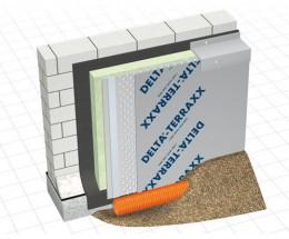 DELTA-TERRAXX - Membrana de protectie si drenare - Membrane