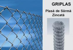 GRIPLAS, Plasa de Sarma Zincata - Garduri