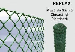 REPLAX, Plasa de Sarma Plasticata - Garduri