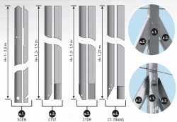 Stalpi Metalici de Sustinere - Stalpi Metalici de Sustinere