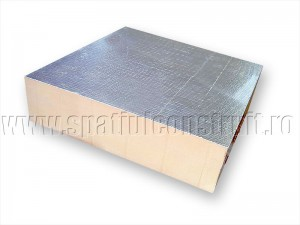 Spuma caserata cu aluminiu - Termoizolatii din spuma