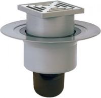 Sifon pardoseala cu iesire verticala cu clopot demontabil - Sifoane de scurgere pentru pardoseala si accesorii
