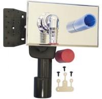Sifon ingropat pentru masina de spalat + racord apa rece + dop - Sifoane de scurgere pentru pardoseala si accesorii