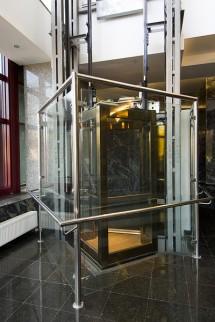 Lift panoramic - Cladire birouri Brasov - Ascensoare panoramice