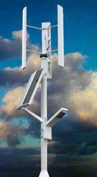 Turbina cu axa verticala  - Turbine