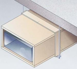 Invelirea rezistenta la foc a tubulaturii de ventilatie din tabla de otel (90 minute) - Protectie antifoc