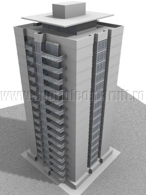 Bloc cu 15 etaje - Bloc cu 15 etaje