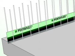 Hidroizolatie pentru elemente de constructii din beton impermeabil - Pentaflex KB - Pentaflex KB