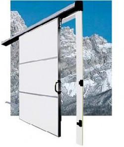 Usa glisanta cu izolatie termica 68mm - 480 S - Refrigerare madie - Usi frigorifice