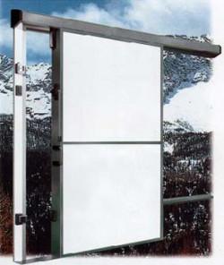 Usa glisanta cu izolatie termica 90mm - 480 TN - Refrigerare-Semicongelare - Usi frigorifice