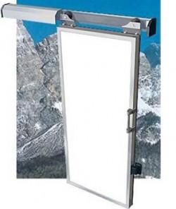 Usa glisanta usoara cu izoaltie termica 40mm - 240 AM - Fara toc - Usi frigorifice