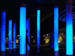 Plexiglas - Tuburi iluminate cu LED-uri - sisteme de iluminare