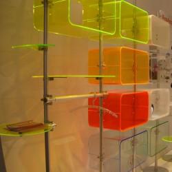 Plexiglas Florescent - Raft magazin - Plexiglas pentru signalistica