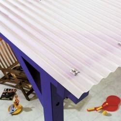 PLEXIGLAS HeatStop utilizat la acoperisuri si terase - Plexiglas pentru acoperisuri si terase