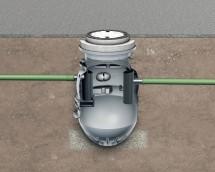 Separator Lipumax-P-B - Separator de grasimi din polietilena LIPUMAX P