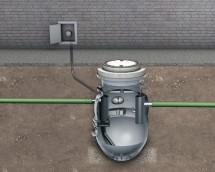 Separator Lipumax-P-D - Separator de grasimi din polietilena LIPUMAX P