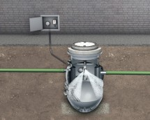 Separator Lipumax-P-DA - Separator de grasimi din polietilena LIPUMAX P