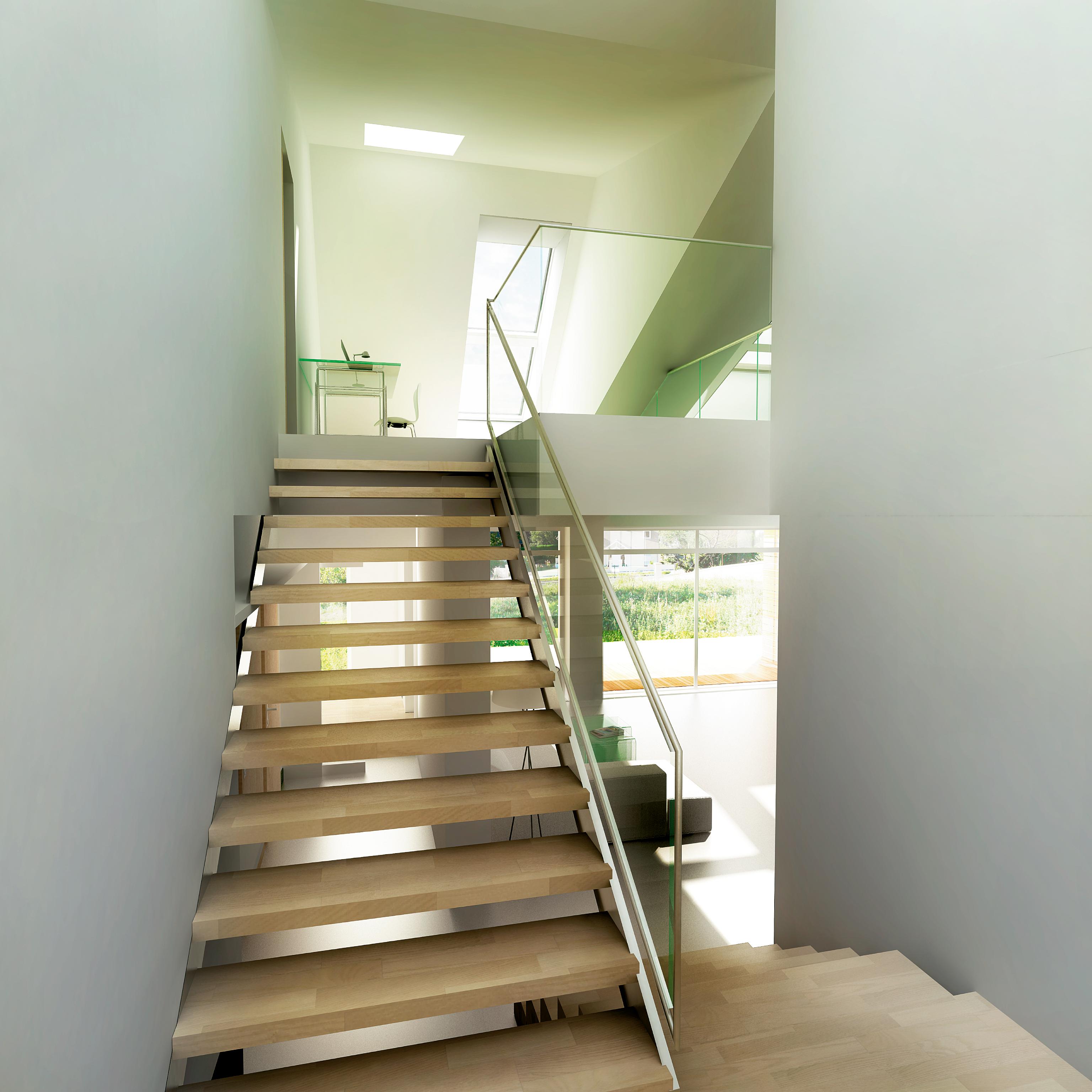 Maison air et lumiere a sasea casa activa construita de for Maison saine air et lumiere