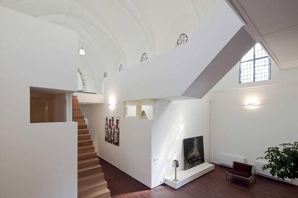 Biserica Residential XL din Utrecht transformata in locuinta - Biserica Rezidentiala XL din Utrecht Olanda transformata