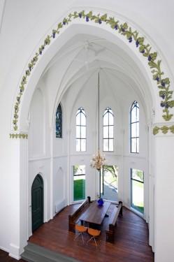 Biserica Rezidentiala XL din Utrecht, Olanda transformata in locuinta moderna Biserica Residential XL din Utrecht transformata in locuinta