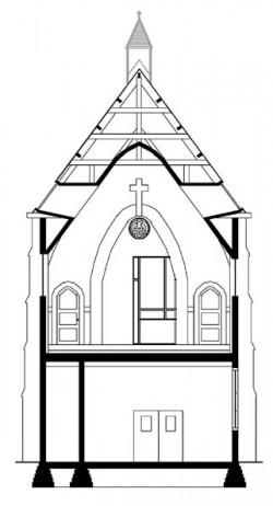 Biserica Vietii din Utrecht, Tarile de Jos transformata in locuinta moderna dfgfd