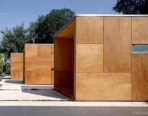 Cladiri publice - Utilizari Panouri din lemn pentru placari