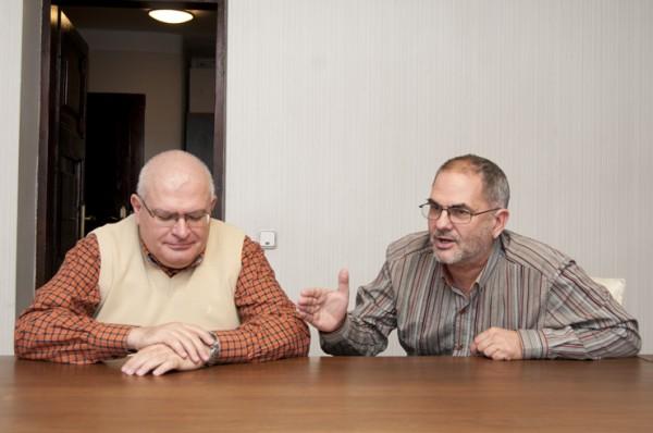 Ioan Andreescu (stanga) si Vlad Gaivoronschi (dreapta) - Ioan Andreescu (stanga) si Vlad Gaivoronschi (dreapta)