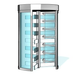 Turnichet de securitate KABA Geryon STS-S02 - Turnicheti full-height - KABA