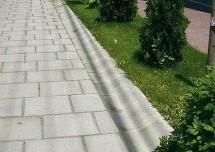 Borduri - Borduri din beton cu strat rezistent la uzura