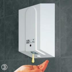 Dozator de sapun - Ecosoap Vortice - Uscatoare de maini si dozator